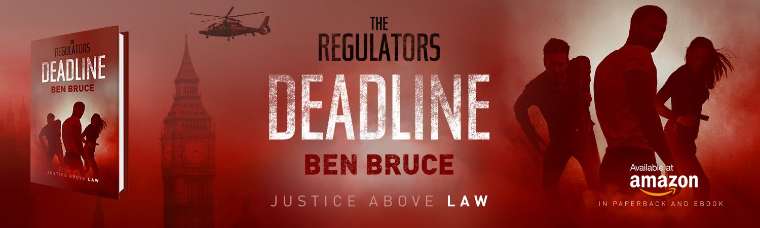 The Regulators: Dead Line Cover Reveal